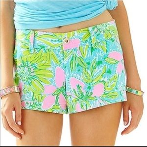 NWT Lilly Pulitzer Coconut Jungle Walsh Short